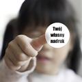 Naklejki dzielny pacjent dla dzieci własny nadruk 15 sztuk