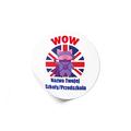 Naklejki motywacyjne dla dzieci szkolne naklejki z imieniem dziecka j. angielski świnka