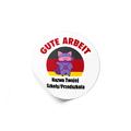 Naklejki motywacyjne dla dzieci szkolne naklejki z imieniem dziecka j. niemiecki świnka