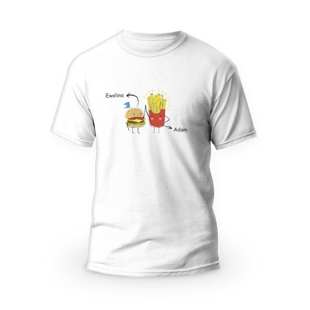 Rozmiar XXL - koszulka męska na dzień chłopaka para idealna