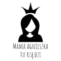 Rozmiar XXL - koszulka damska z własnym nadrukiem - Mama tu rządzi - biała