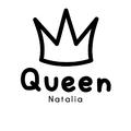Rozmiar XL - koszulka damska z własnym nadrukiem - Queen - biała