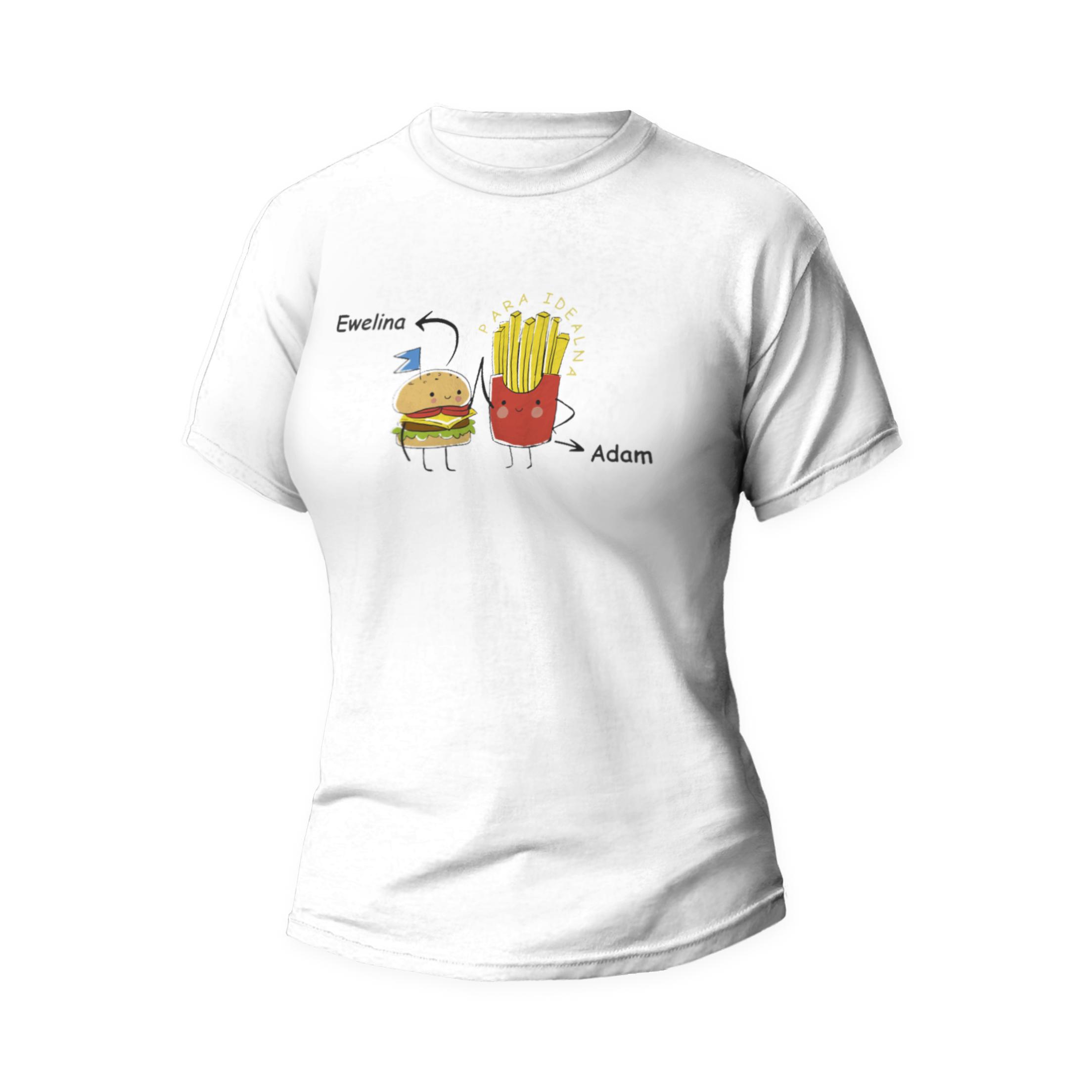 Rozmiar L - koszulka damska dla dziewczyny para idealna
