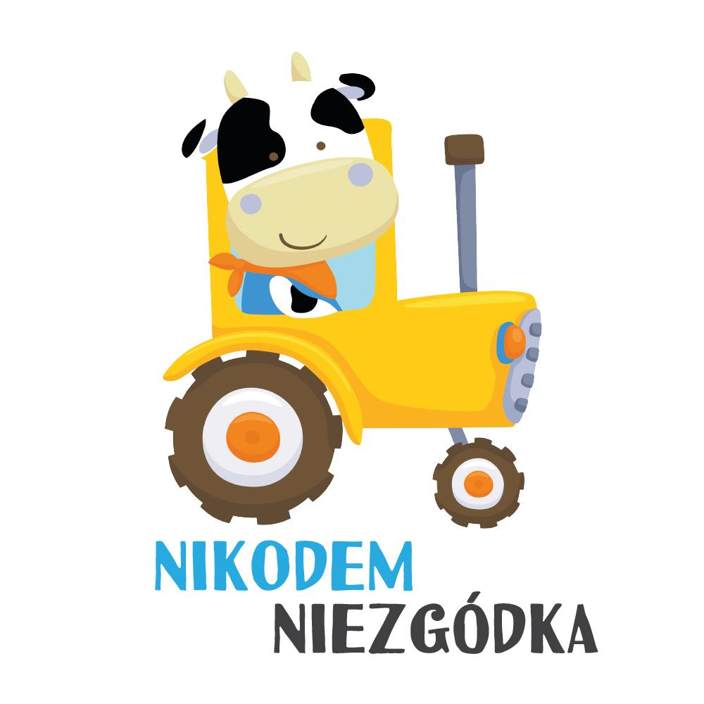Worek plecak do przedszkola na buty z imieniem dziecka traktor