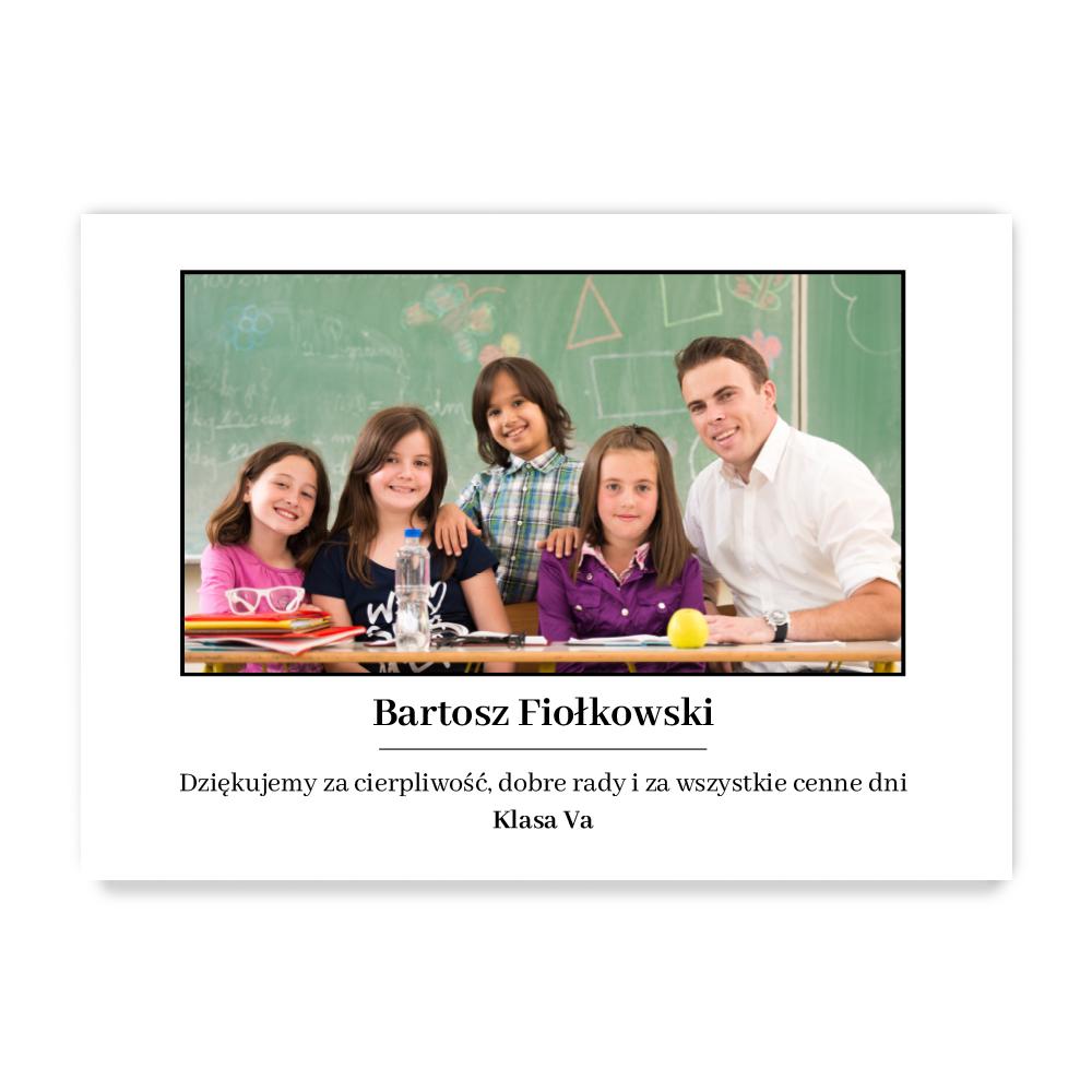 Plakat ze zdjęć do ramki ikea 40x50 prezent na dzień nauczyciela