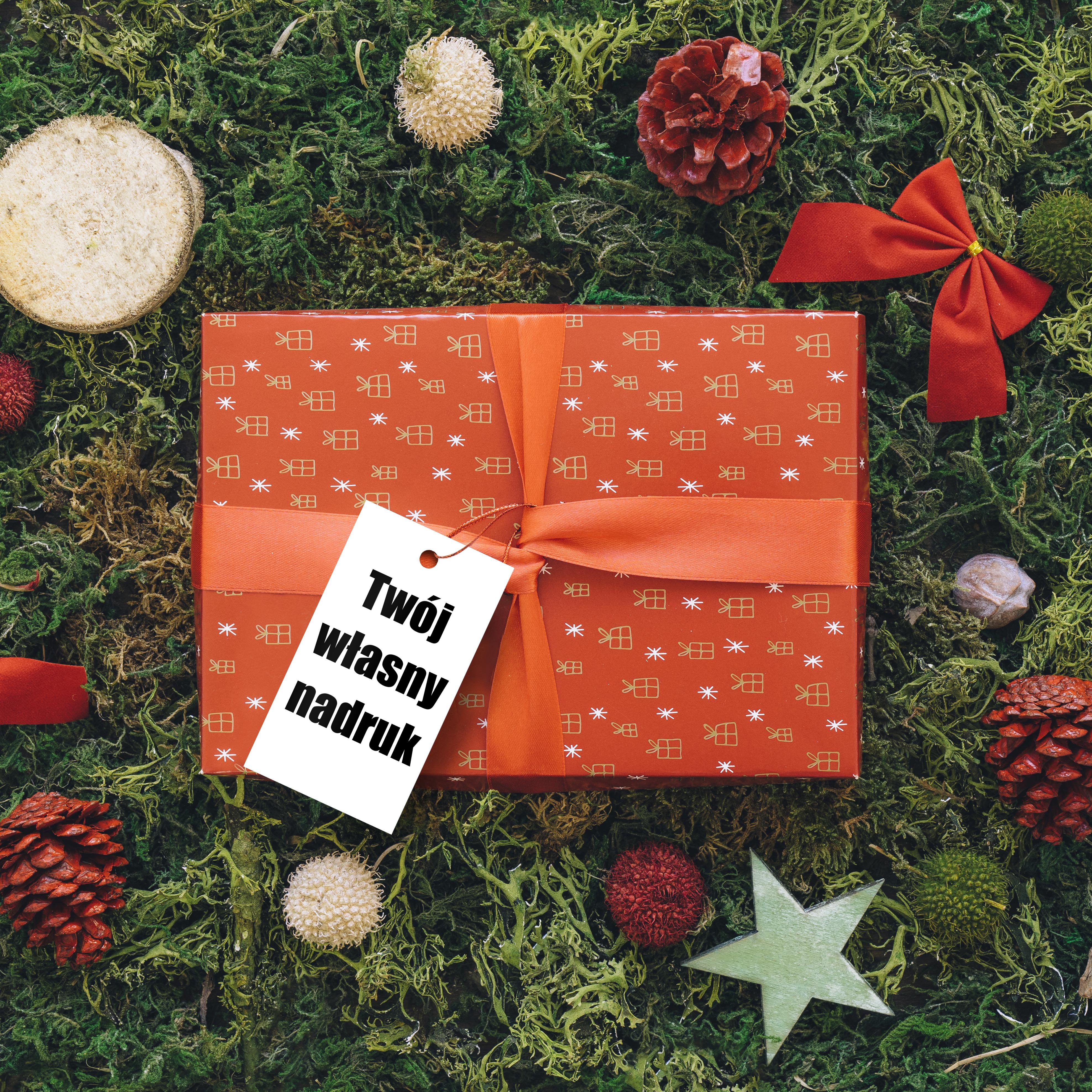 Zawieszki na prezenty świąteczne własny tekst własny projekt